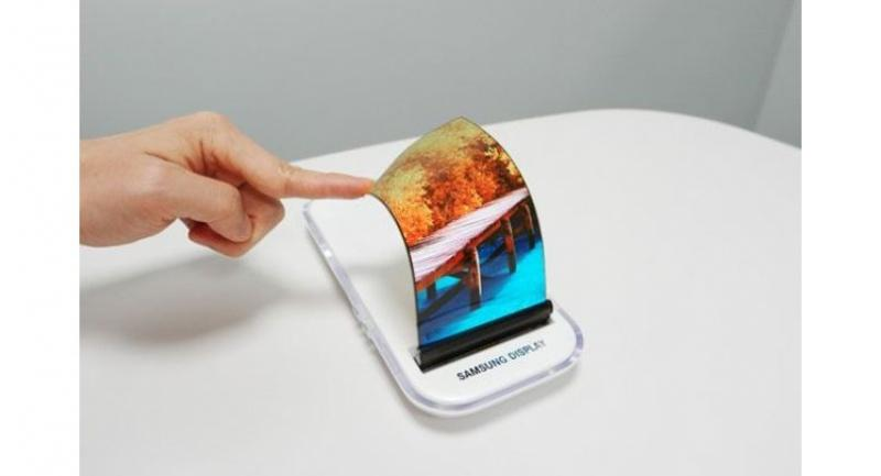 Flexible OLED display (Samsung Display)