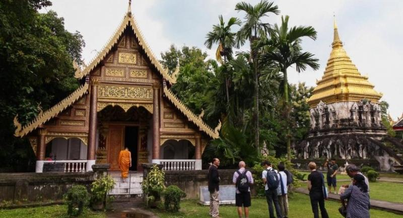 Photo courtesy of  the Chiang Mai World Heritage Project .