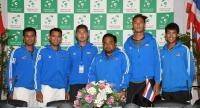 Thailand's Davis Cup team.