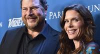 In this file photo taken on January 9, 2016 Marc Benioff (L) and Lynne Benioff arrive at the 5th Annual Sean Penn