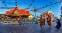 Unlike urban zones of nearby provinces, Yasothon's Muang Yasothon retains much of its local culture and traditional way of life. People give alms to monks in the morning, and motorless tricycles are still a common means of transport. We Love Yasothon
