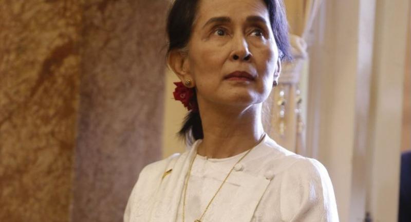 File photo : Aung San Suu Kyi//AFP