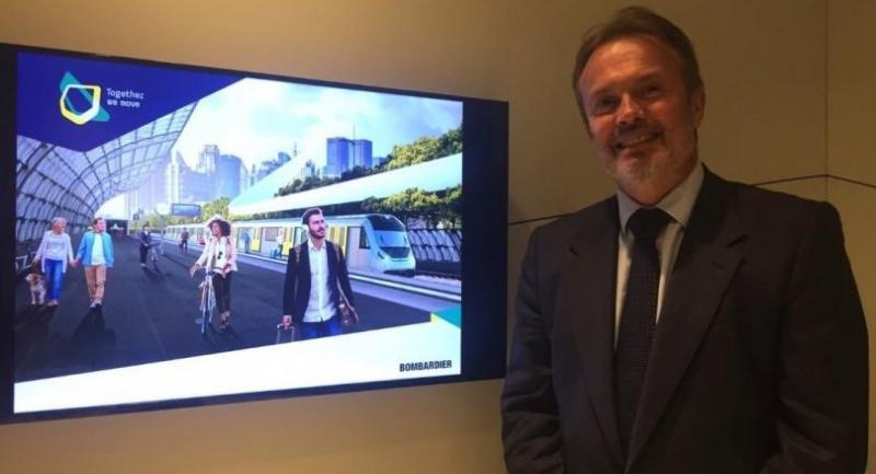 Laurent Troger, president of Bombardier Transportation