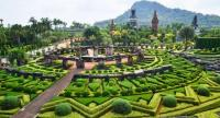 Spend your day at the manicured garden of Nong Nooch. Photo: Tourism Authority of Thailand