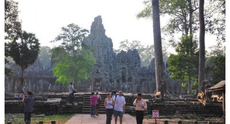 Bayon Temple in Siem Reap Province. Leang Phannara