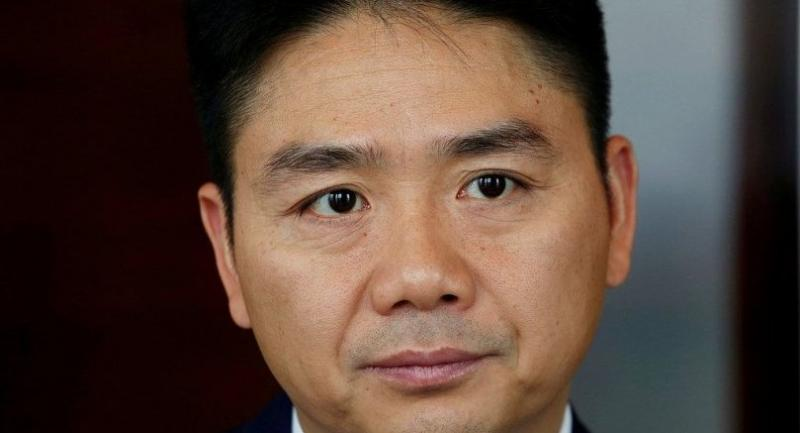 JD founder Liu Qiangdong attends an interview in Hong Kong, on June 9, 2017. [Photo/VCG]
