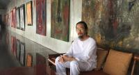 Prasong Luemuang has both his work and that of young artists on display at the Pan Boonmee Boonsri Art Gallery.