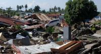 The 7.4-magnitude earthquake in Palu and Donggala destroyed infrastructure and homes, leaving survivors without shelter. (Antara/Darwin Fatir)