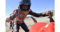 Honda Team's Spanish rider Marc Marquez