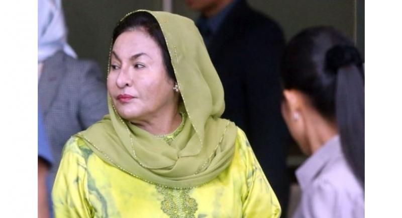 Rosmah arriving at the MACC headquarters in Putrajaya on Wednesday morning.//Photo: AZHAR MAHFOF/The Star