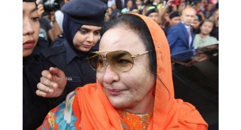 File photo : Rosmah