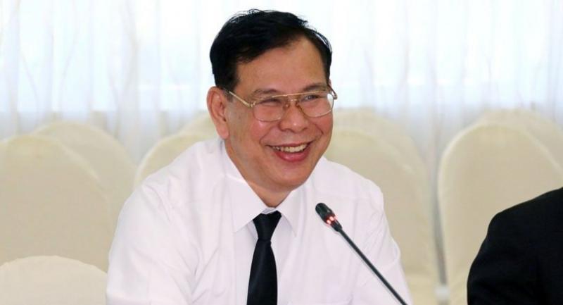 Public Health Ministry's new permanent secretary Sukhum Karnchanapimai