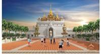 Legend Siam is set to become a new Pattaya landmark that welcomes visitors with a magnificent arch at the entrance guarded by statues of Totsakan and Sahassa Decha.