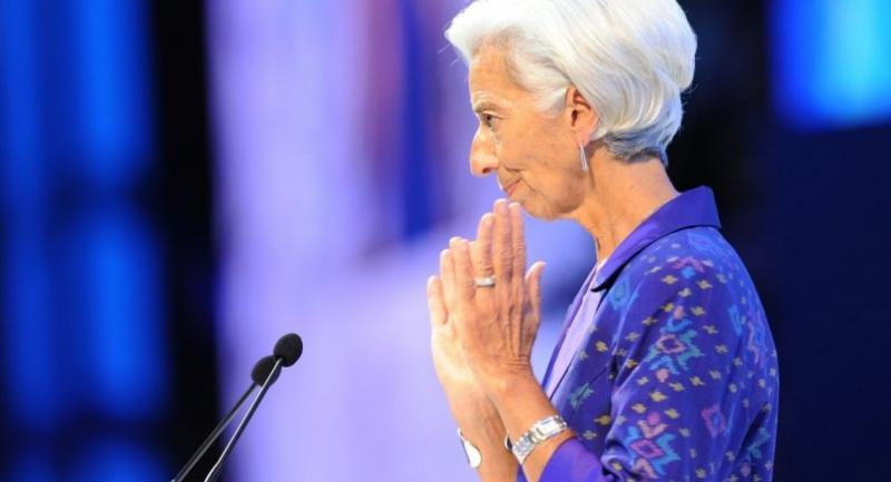 Managing director of the International Monetary Fund (IMF) Christine Lagarde speaks at the International Monetary Fund (IMF) and World Bank annual meetings in Nusa Dua, on Indonesia's resort island of Bali on October 12, 2018. /AFP