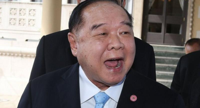 File photo: Gen Prawit Wongsuwan