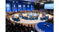 The IMFC said in a communique that members also recognised the need to continue to step up dialogue on trade and improve the World Trade Organization.PHOTO: AFP