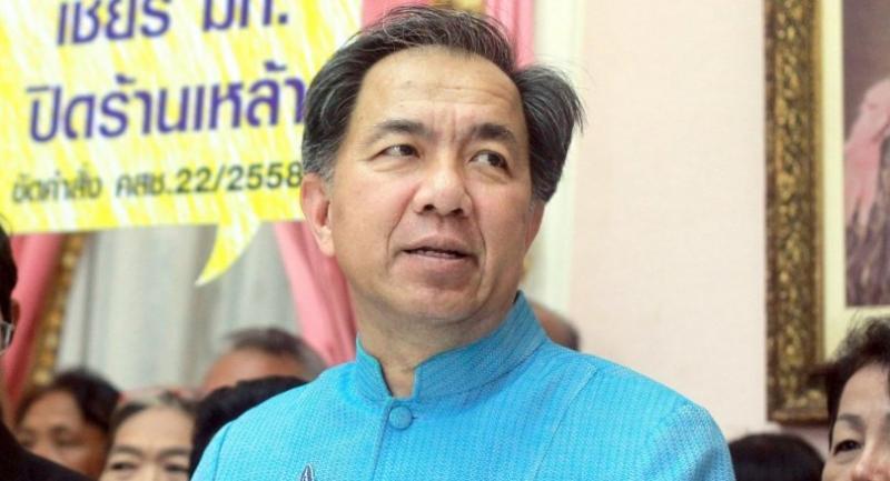 File photo: Agriculture Minister Krissada Boonraj