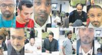 A frame grab from a police CCTV video made available through Sabah newspaper allegedly shows Saudi citizens that Turkish police suspect of being involved in the disappearance of Saudi journalist Jamal Khashoggi, at Istanbul's Ataturk airport./EPA-EFE