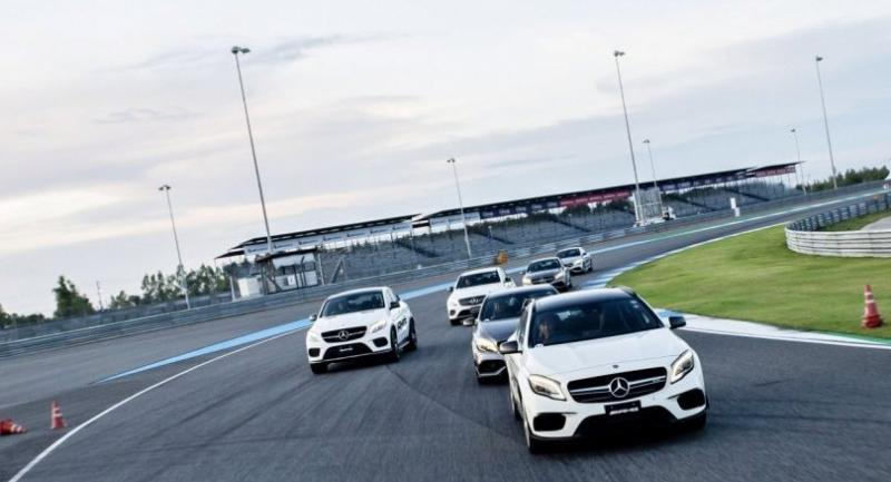 Mercedes-AMG  Driving Experience 2018 is held at Chang International Circuit.