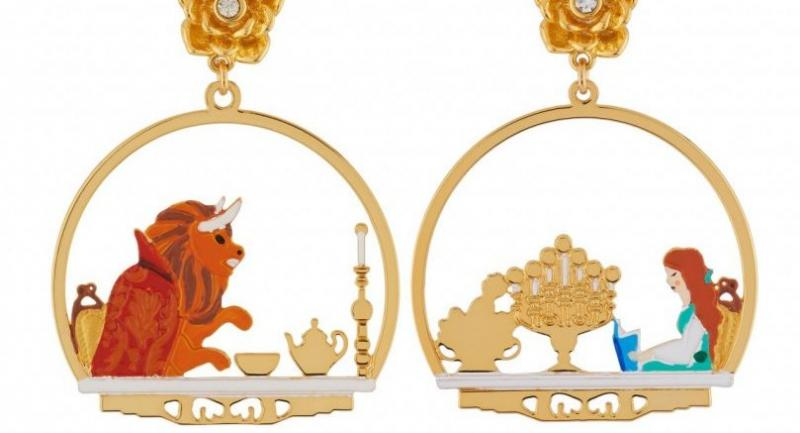 Belle Comme La Bete earrings, Bt4,900