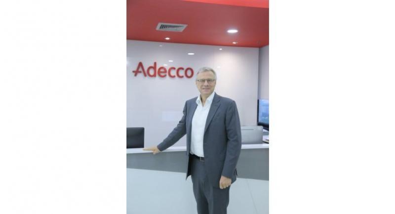 Alain Dehaze, chief executive of Adecco Group