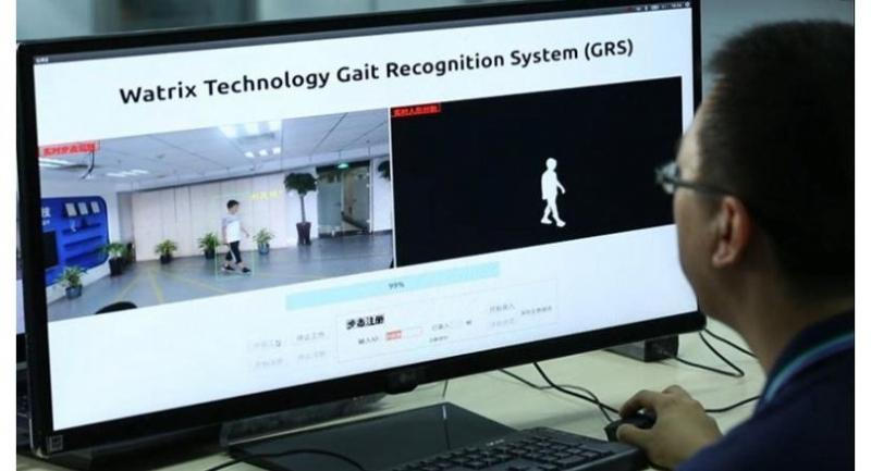 A company is using the gait recognition system developed by Chinese computer vision startup Watrix AI. [Photo provided to chinadaily.com.cn]