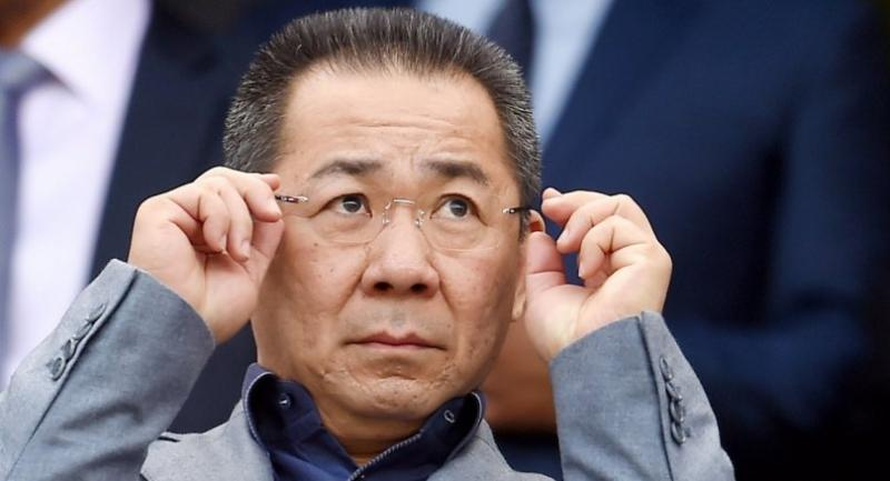 (FILE) Vichai Srivaddhanaprabha, Chairman of Leicester City, ahead of the Chelsea Leicester English Premier League soccer match at Stamford Bridge in London, Britain, 15 May 2016 (reissued 27 October 2018). // EPA-EFE PHOTO