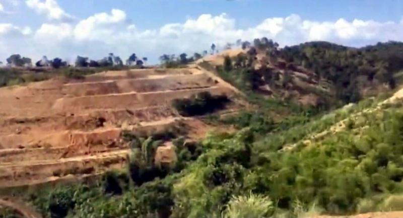 The current condition of Phu Khee Kai in Phetchabun has prompted the authorities to look into allegations of forest encroachment.