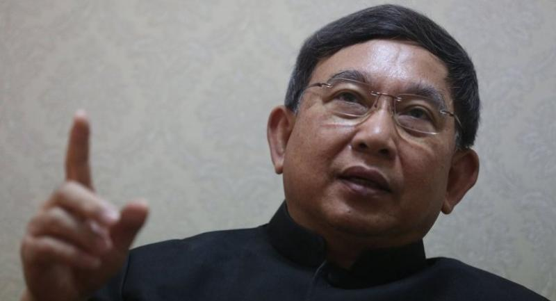 File photo: Justice Minister ACM Prajin Juntong