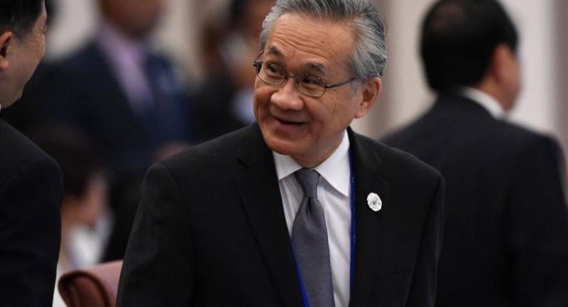 File photo: Foreign Minister Don Pramudwinai