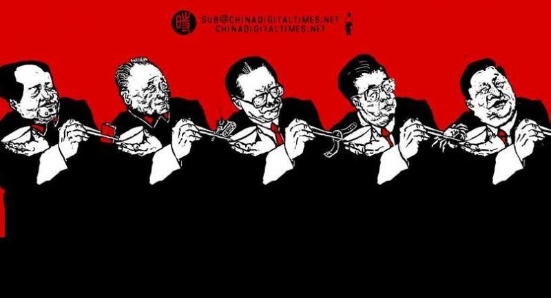 Cartoon by Badiucao