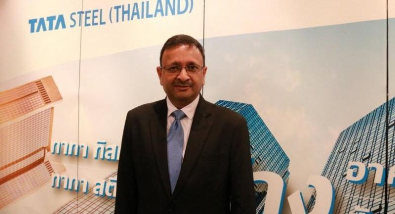 Rajiv Mangal, the president and CEO, Tata Steel (Thailand)