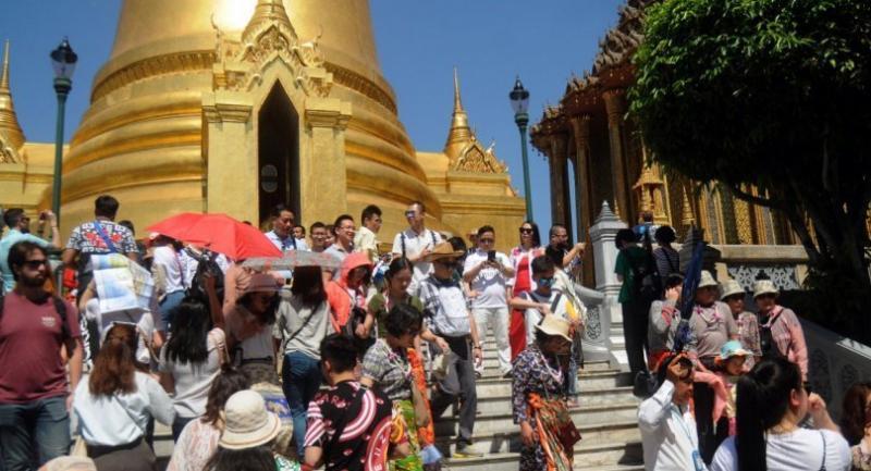 File photo: Tourists