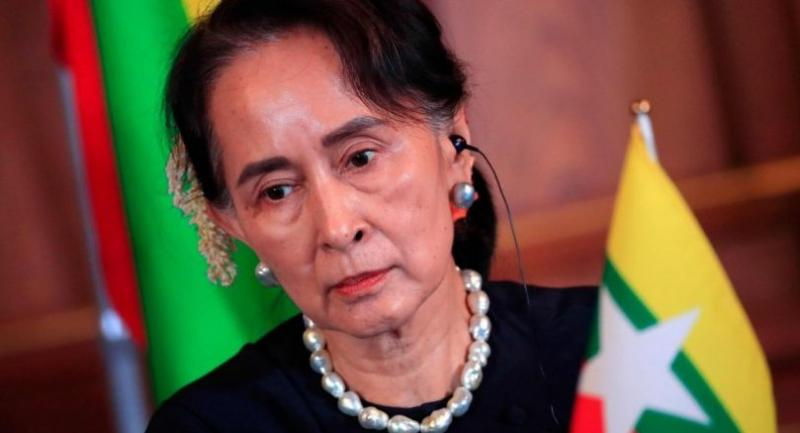 AFP filephoto: Myanmar's State Counsellor Aung San Suu Kyi