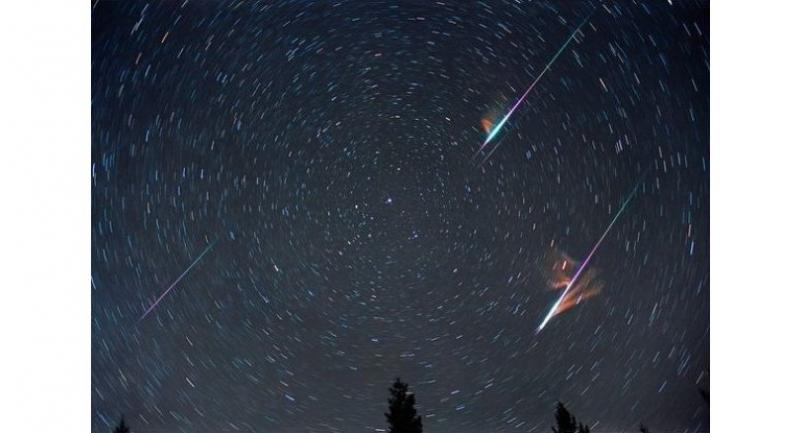 File photo: Leonids in Chiang Mai