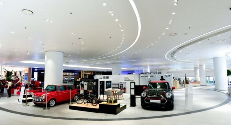 BMW-MINI-BMW Motorrad Urban Stores by Millennium Auto