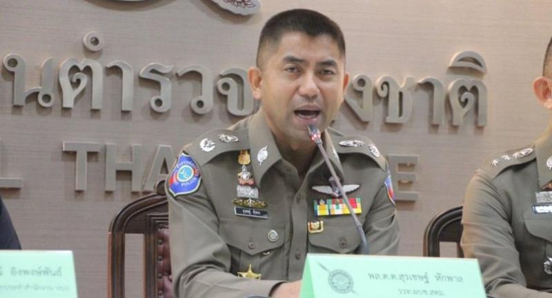 File photo: Acting immigration police head Maj-Gen Surachate Hakpal