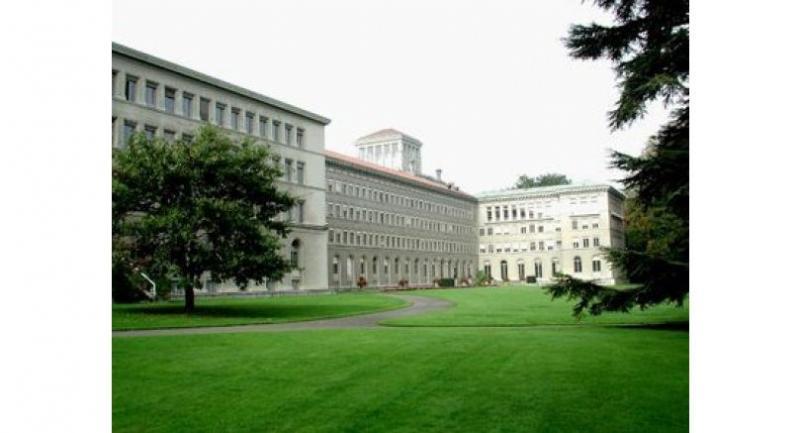 The headquarters of the World Trade Organisation in Geneva, Switzerland. Photo: ILO Historical Photo Archives
