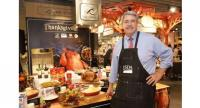 Ted McKinney, under secretary for Trade and Foreign Agricultural Affairs at the US Department of Agriculture,  promotes US turkey and farm produce to  celebrate Thanksgiving Day at Central Food Hall in Bangkok.