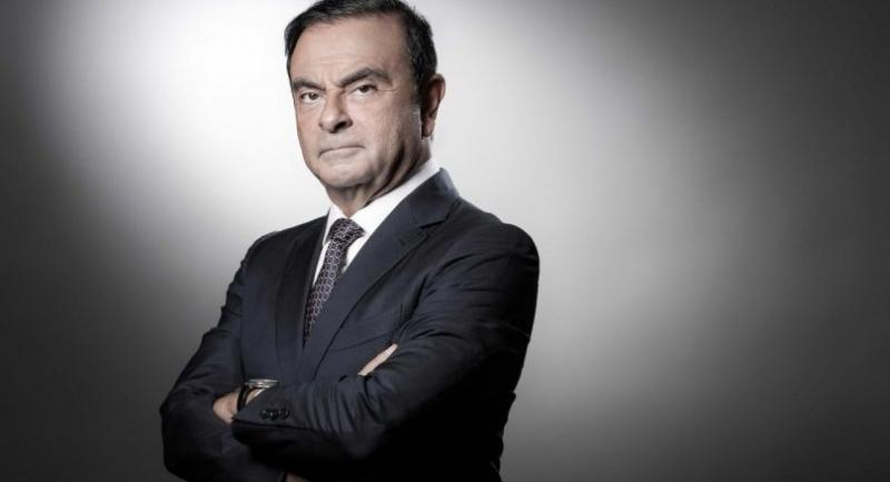 In this file photo taken on September 12, 2018 French Renault group CEO and chairman of Japan's Nissan Motor CO. Ltd and Mitsubishi Motors Corp, Carlos Ghosn poses during a photo session at the Renault headquarters in Boulogne-Billancourt./AFP