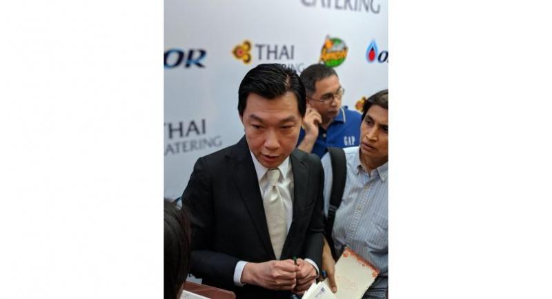 Sumeth Damrongchaitham, president of Thai Airways International