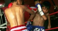 File Photo :Many children in Thailand become professional muay thai boxers to help support their families and make money for boxing camps. But some of them end up with serious injuries that can sometimes prove fatal.