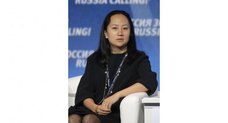 File photo : Meng Wanzhou//EPA-EFE
