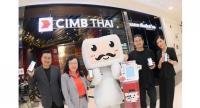 From left to right  Mr.Piyawat Jirapongsuwan, Head Innovation Office of CIMB Thai Bank; Mrs. Somchit Chuenchomchat, Head Consumer Sales