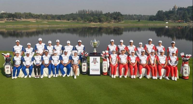The Thai and Japanese golfers will today embark on what promises to be an intriguing three days of competition.