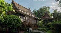 The original Thai-style residence, actually two houses conjoined, is undergoing a major renovation, strengthening a structure that's intended to inspire future generations of artists.