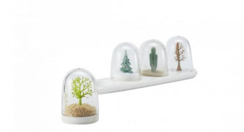 Tree condiment containers, Bt1,200