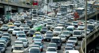 File photo: Traffic jams in Bangkok.