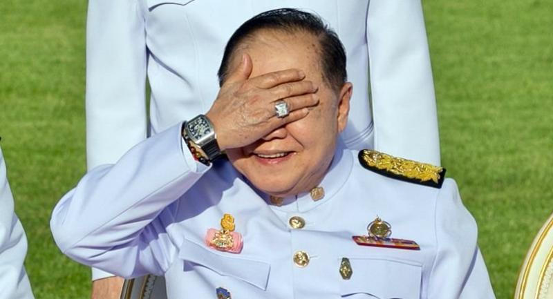 File photo: Deputy Premier General Prawit Wongsuwan
