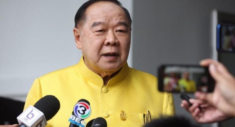 Photo : Deputy Prime Minister Prawit Wongsuwan